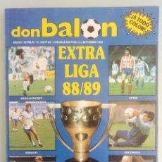 Coleccionismo deportivo: DON BALÓN. EXTRA LIGA 88/89 - #. Lote 172342252