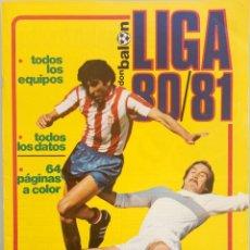 Coleccionismo deportivo: DON BALÓN. EXTRA LIGA 80/81 - #. Lote 172342852