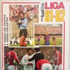 Coleccionismo deportivo: DON BALÓN. EXTRA LIGA 81/82 - #. Lote 172342924