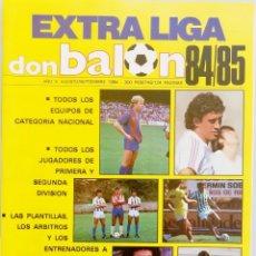 Coleccionismo deportivo: DON BALÓN. EXTRA LIGA 84/85 - #. Lote 172343177