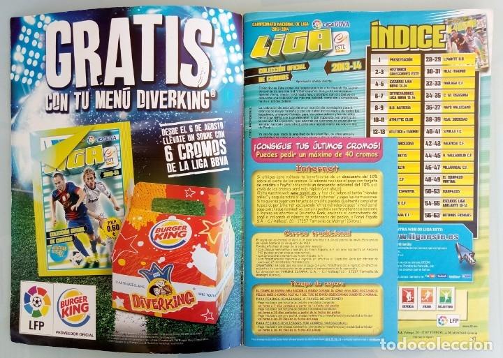 Coleccionismo deportivo: ALBUM PANINI. - LIGA 2013-14 - # - Foto 4 - 172348450