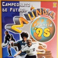 Coleccionismo deportivo: ALBUM ED. ESTADIO. - CAMPEONATO MUNDIAL DE FÚTBOL FRANCIA 98 - #. Lote 172349058