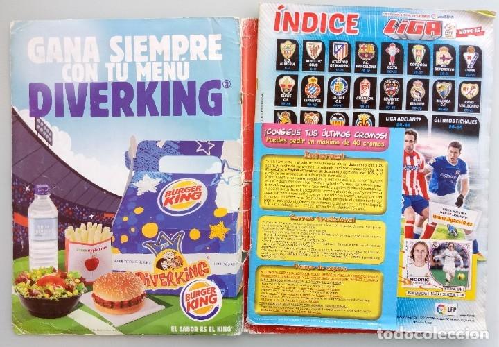 Coleccionismo deportivo: ALBUM PANINI. - LIGA 2014-15 - # - Foto 4 - 172363460
