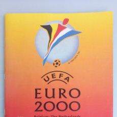 Coleccionismo deportivo: ALBUM PANINI. - UEFA EURO 2000 - (SOLO ALBUM) #. Lote 172370485