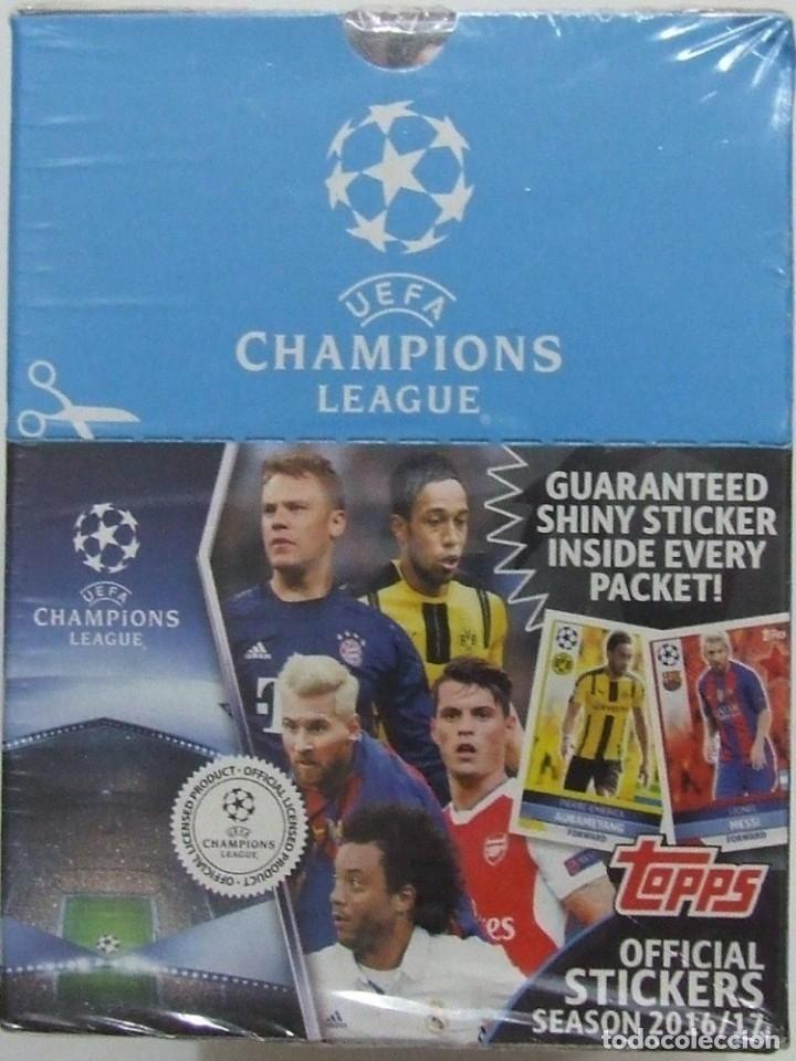 ALBUM TOPPS. - UEFA CHAMPIONS LEAGUE 2016/2017 - BOX! - # (Coleccionismo Deportivo - Libros de Fútbol)