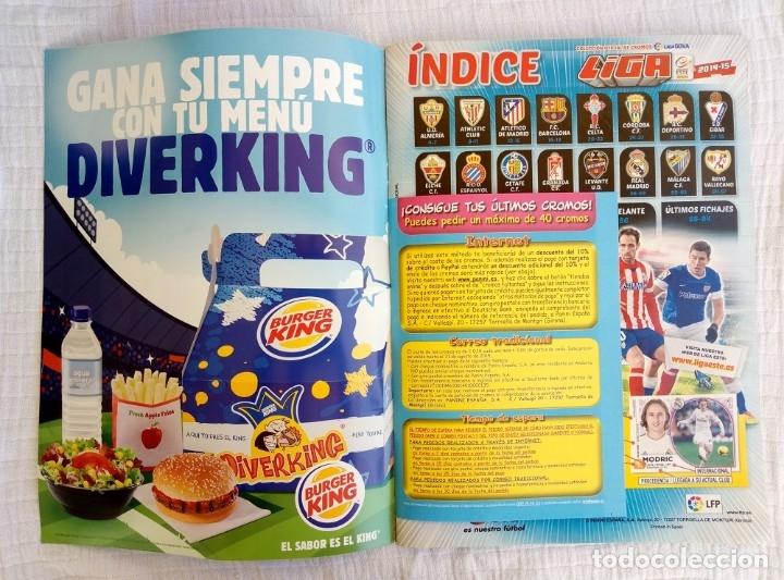 Coleccionismo deportivo: ALBUM PANINI. - LIGA 2014-15 - # - Foto 4 - 172373293