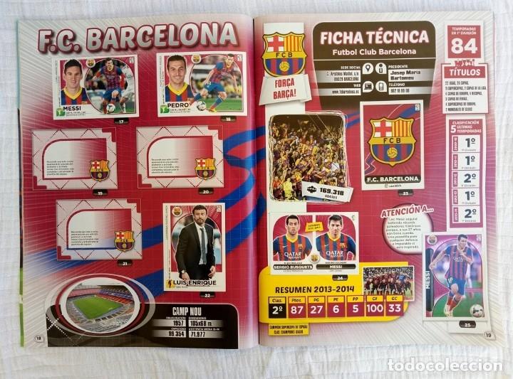 Coleccionismo deportivo: ALBUM PANINI. - LIGA 2014-15 - # - Foto 8 - 172373293