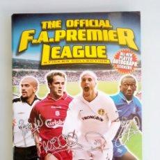 Coleccionismo deportivo: ALBUM MERLIN. - THE OFFICIAL F.A. PREMIER LEAGUE 2002 - #. Lote 172395730