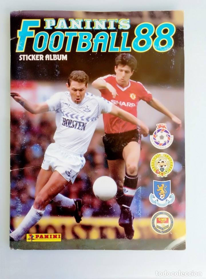 ALBUM PANINI. - FOOTBALL 88 - # (Coleccionismo Deportivo - Libros de Fútbol)