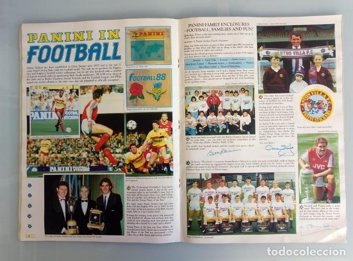 Coleccionismo deportivo: ALBUM PANINI. - FOOTBALL 88 - # - Foto 5 - 172396637