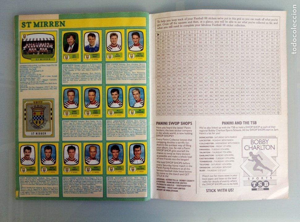 Coleccionismo deportivo: ALBUM PANINI. - FOOTBALL 88 - # - Foto 10 - 172396637