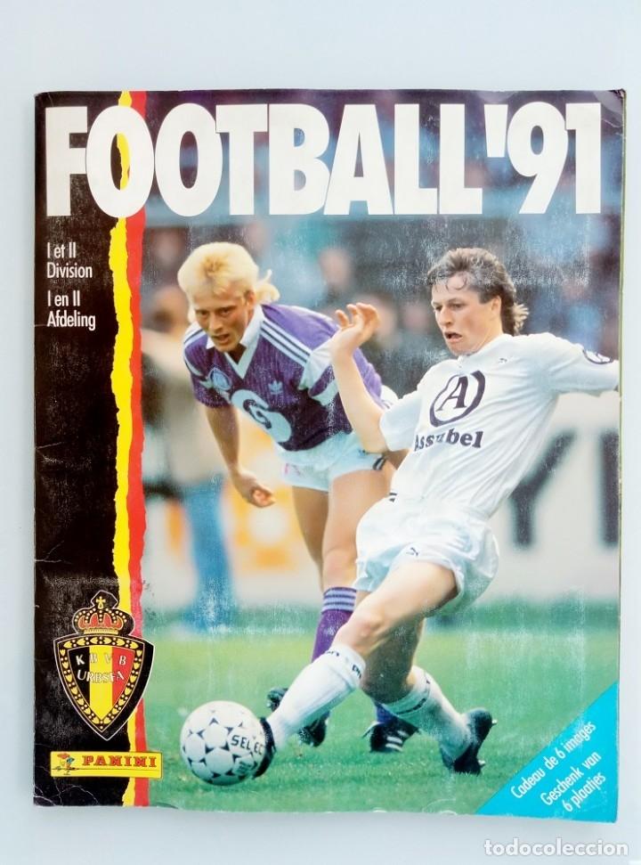 ALBUM PANINI. - FOOTBALL 91 - # (Coleccionismo Deportivo - Libros de Fútbol)