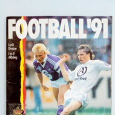 Coleccionismo deportivo: ALBUM PANINI. - FOOTBALL 91 - #. Lote 172405282