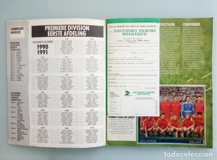 Coleccionismo deportivo: ALBUM PANINI. - FOOTBALL 91 - # - Foto 3 - 172405282