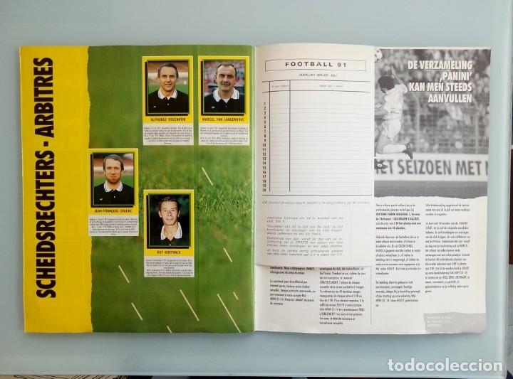 Coleccionismo deportivo: ALBUM PANINI. - FOOTBALL 91 - # - Foto 7 - 172405282