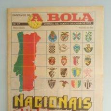 Coleccionismo deportivo: CADERNOS A BOLA. - FUTEBOL 88-89 - #. Lote 172407455