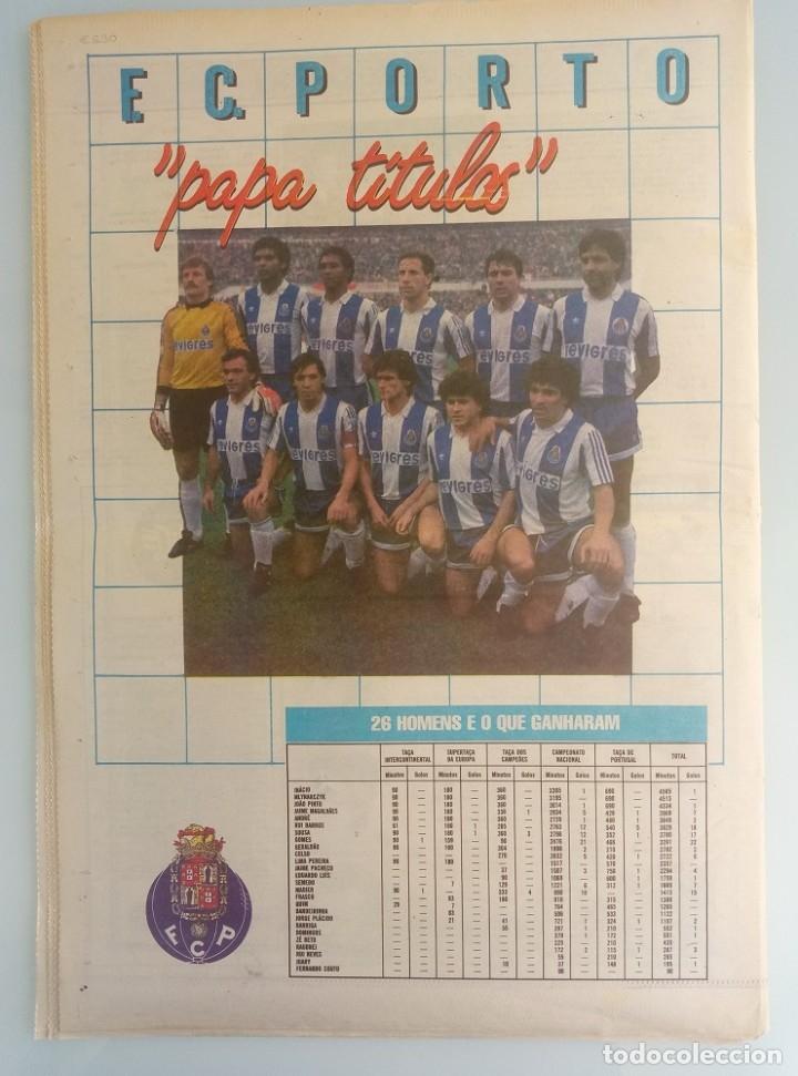 Coleccionismo deportivo: CADERNOS A BOLA. - FUTEBOL 88-89 - # - Foto 2 - 172407455