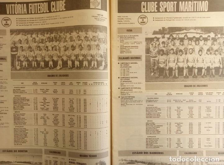 Coleccionismo deportivo: CADERNOS A BOLA. - FUTEBOL 88-89 - # - Foto 3 - 172407455