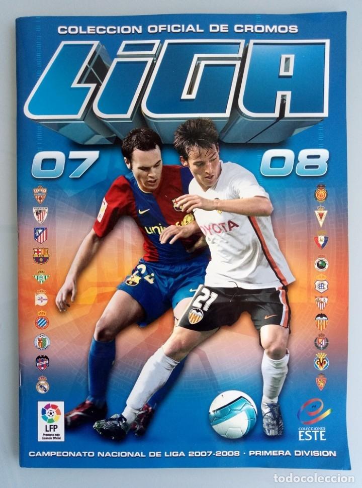 ALBUM ED. ESTE. - LIGA 2007-2008 - # (Coleccionismo Deportivo - Libros de Fútbol)