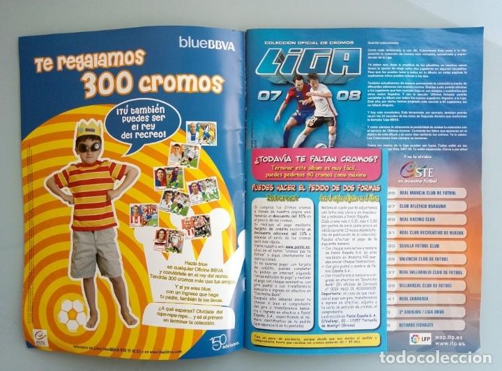 Coleccionismo deportivo: ALBUM ED. ESTE. - LIGA 2007-2008 - # - Foto 3 - 172415563