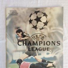 Coleccionismo deportivo: ALBUM PANINI. - UEFA CHAMPIONS LEAGUE 2000/2001 - #. Lote 172419644
