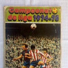 Coleccionismo deportivo: ALBUM DISGRA. - CAMPEONATO DE LIGA 1974/75 - #. Lote 172641303