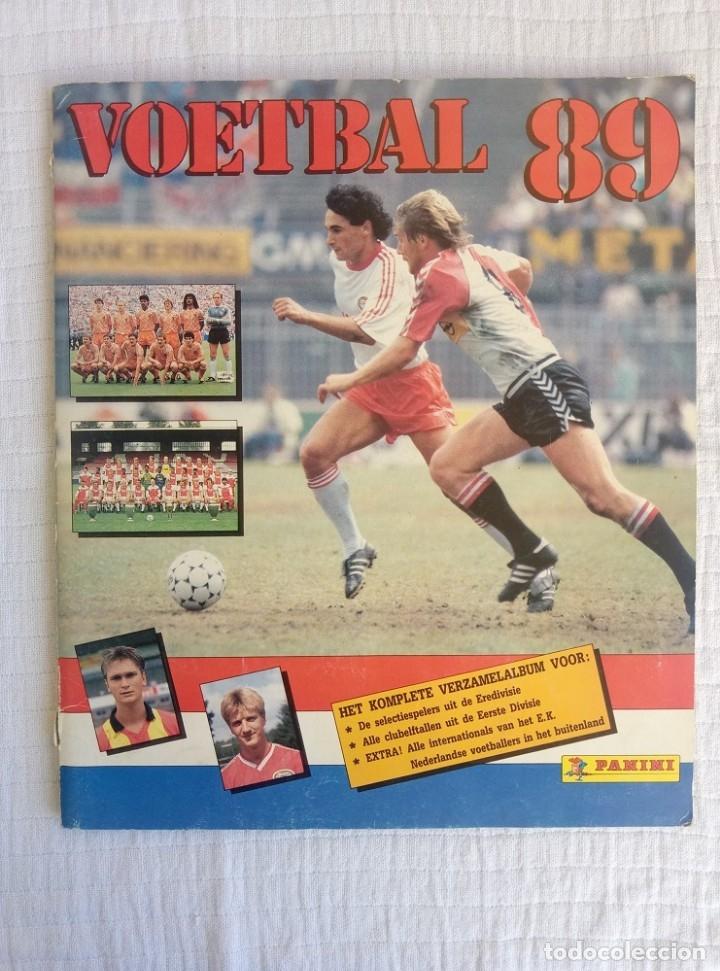 ALBUM PANINI. - VOETBAL 89 - # (Coleccionismo Deportivo - Libros de Fútbol)