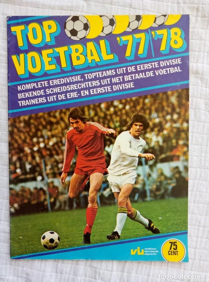 VANDERHOUT. - TOP VOETBAL '77/'78 - EMPTY ALBUM - # (Coleccionismo Deportivo - Libros de Fútbol)