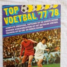 Coleccionismo deportivo: VANDERHOUT. - TOP VOETBAL '77/'78 - EMPTY ALBUM - #. Lote 172684498
