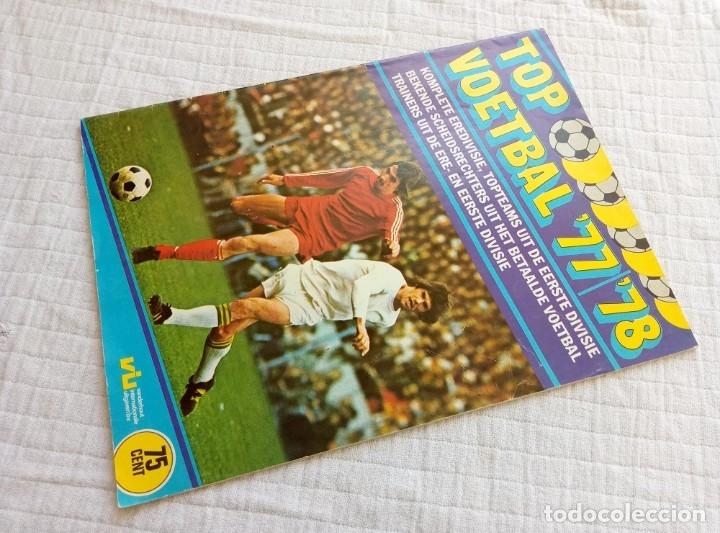 Coleccionismo deportivo: VANDERHOUT. - TOP VOETBAL 77/78 - Empty Album - # - Foto 4 - 172684498