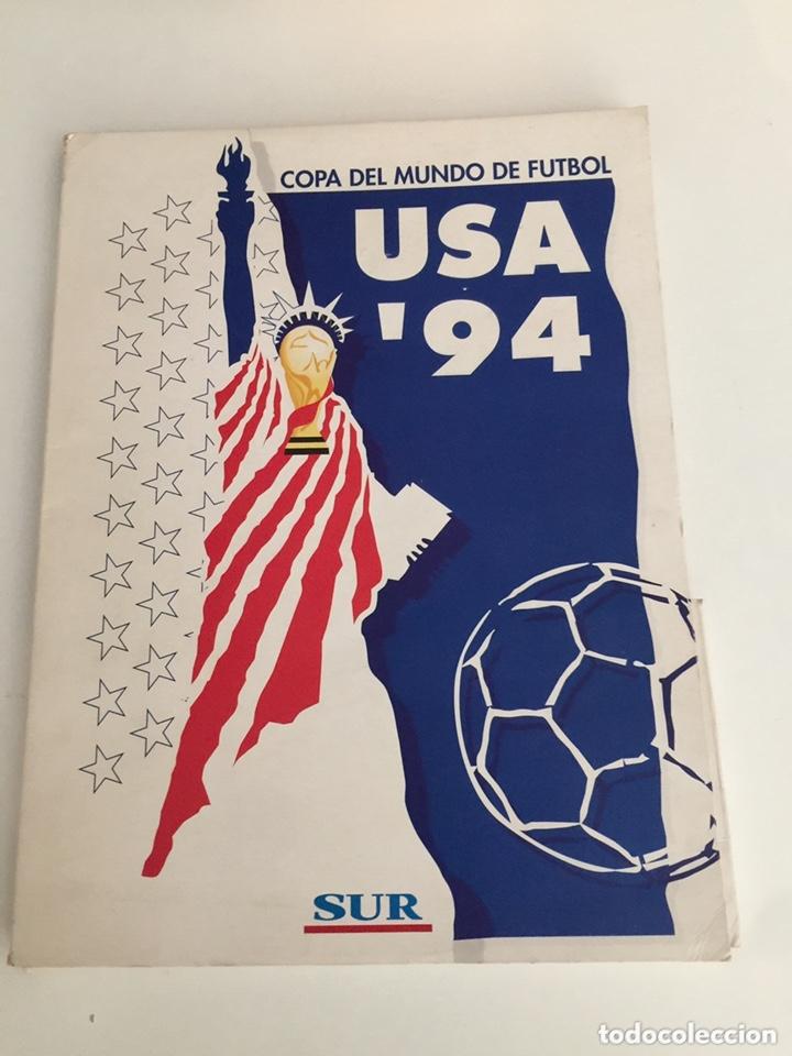 COLECCIÓN COMPLETA FASCÍCULOS MUNDIAL USA 94 DIARIO SUR RARÍSIMO EN PERFECTO ESTADO. (Coleccionismo Deportivo - Libros de Fútbol)