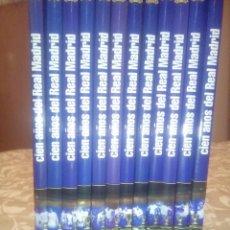 Coleccionismo deportivo: CIEN AÑOS DEL REAL MADRID: TOMOS 1 AL 12. DIARIO AS, 2001.. Lote 173053074
