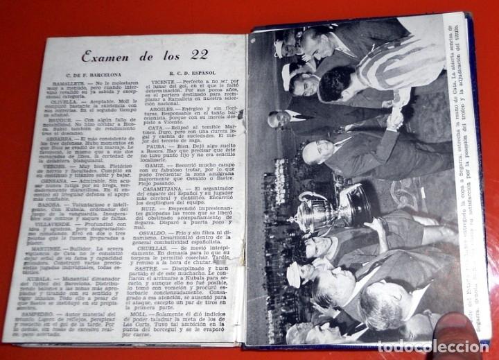 Coleccionismo deportivo: LIBRITO EDICIONES DINÁMICO ZARAGOZA LA LUCHA POR LA COPA 1957 - FÚTBOL VINTAGE - COPA GENERALÍSIMO - Foto 5 - 173598788