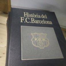 Coleccionismo deportivo: ENCICLOPEDIA HISTORIA DEL FÚTBOL CLUB BARCELONA - 6 TOMOS -. Lote 173951925