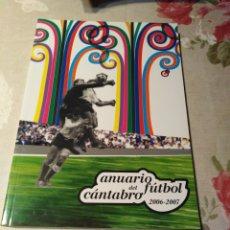 Coleccionismo deportivo: ANUARIO DEL FÚTBOL CÁNTABRO . Lote 174343360