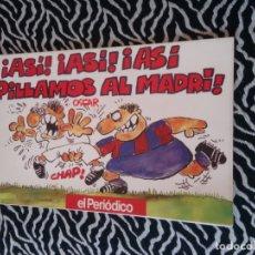 Coleccionismo deportivo: LIBRO CÓMIC POR OSCAR BARCELONA EL PERIÓDICO BARÇA 91-92 ASÍ ASÍ PILLAMOS AL MADRÍ LIGA 1991-1992. Lote 174491469