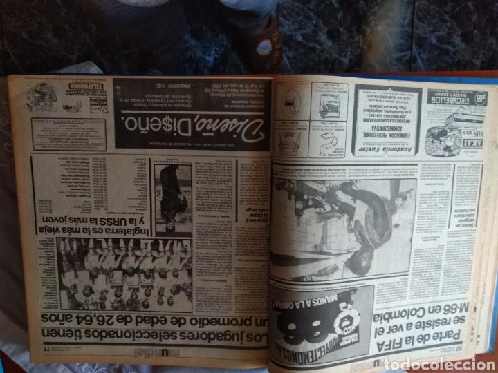 Coleccionismo deportivo: ESPECIAL ( MUY BUSCADO, EL PERIÓDICO, MUNDIAL ESPAÑA 82 ÚNICO PERFECTO ESTADO !) ÚNICO EJEMPLAR. - Foto 5 - 175281918