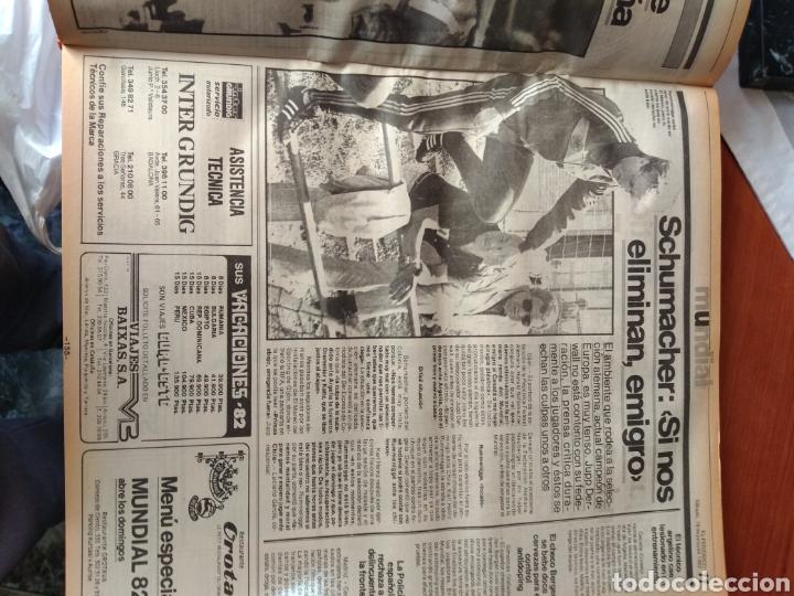 Coleccionismo deportivo: ESPECIAL ( MUY BUSCADO, EL PERIÓDICO, MUNDIAL ESPAÑA 82 ÚNICO PERFECTO ESTADO !) ÚNICO EJEMPLAR. - Foto 6 - 175281918