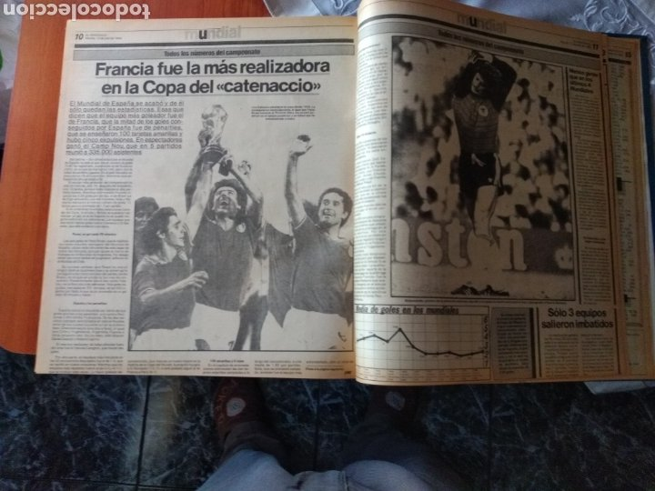 Coleccionismo deportivo: ESPECIAL ( MUY BUSCADO, EL PERIÓDICO, MUNDIAL ESPAÑA 82 ÚNICO PERFECTO ESTADO !) ÚNICO EJEMPLAR. - Foto 8 - 175281918