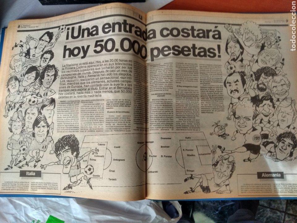 Coleccionismo deportivo: ESPECIAL ( MUY BUSCADO, EL PERIÓDICO, MUNDIAL ESPAÑA 82 ÚNICO PERFECTO ESTADO !) ÚNICO EJEMPLAR. - Foto 9 - 175281918