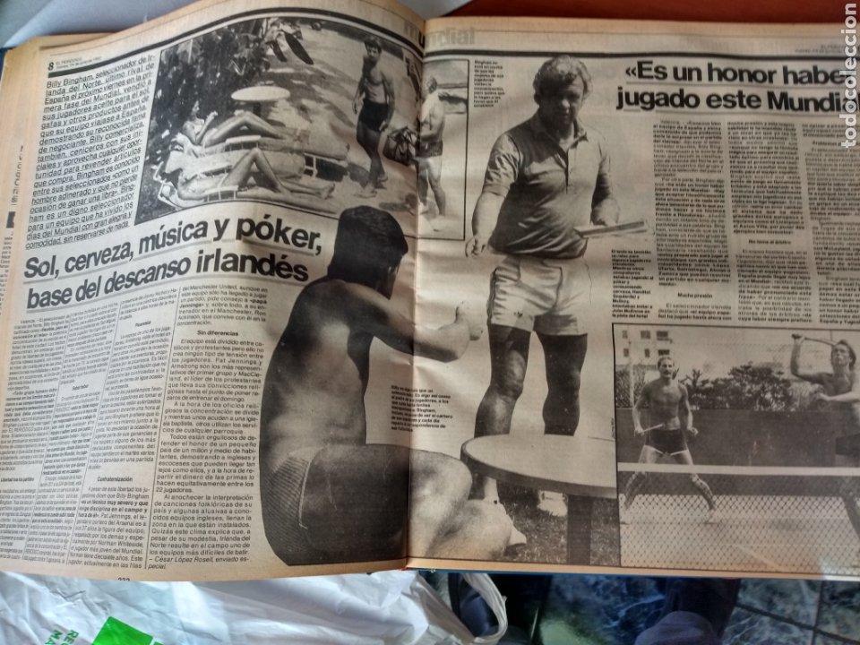 Coleccionismo deportivo: ESPECIAL ( MUY BUSCADO, EL PERIÓDICO, MUNDIAL ESPAÑA 82 ÚNICO PERFECTO ESTADO !) ÚNICO EJEMPLAR. - Foto 11 - 175281918