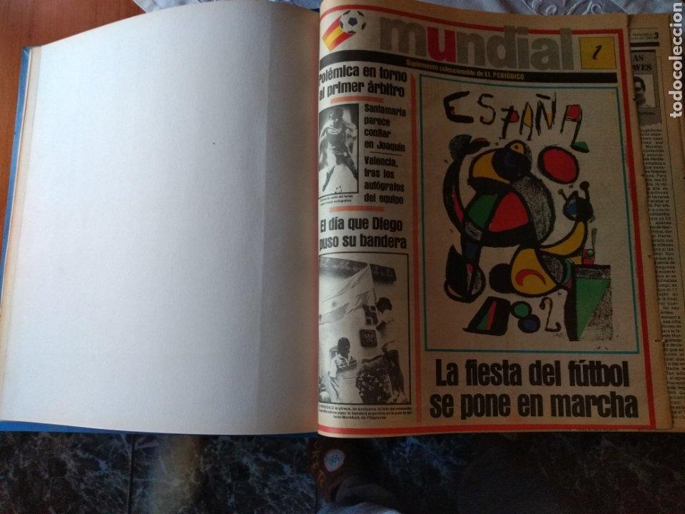 Coleccionismo deportivo: ESPECIAL ( MUY BUSCADO, EL PERIÓDICO, MUNDIAL ESPAÑA 82 ÚNICO PERFECTO ESTADO !) ÚNICO EJEMPLAR. - Foto 12 - 175281918