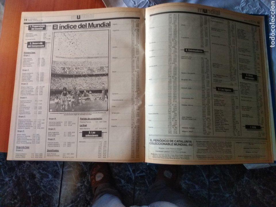 Coleccionismo deportivo: ESPECIAL ( MUY BUSCADO, EL PERIÓDICO, MUNDIAL ESPAÑA 82 ÚNICO PERFECTO ESTADO !) ÚNICO EJEMPLAR. - Foto 16 - 175281918