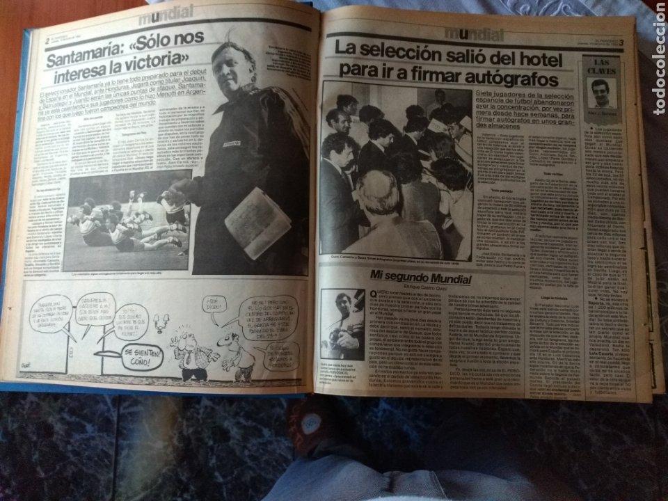 Coleccionismo deportivo: ESPECIAL ( MUY BUSCADO, EL PERIÓDICO, MUNDIAL ESPAÑA 82 ÚNICO PERFECTO ESTADO !) ÚNICO EJEMPLAR. - Foto 18 - 175281918