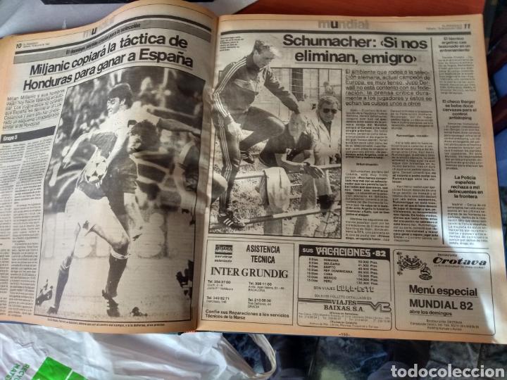 Coleccionismo deportivo: ESPECIAL ( MUY BUSCADO, EL PERIÓDICO, MUNDIAL ESPAÑA 82 ÚNICO PERFECTO ESTADO !) ÚNICO EJEMPLAR. - Foto 19 - 175281918