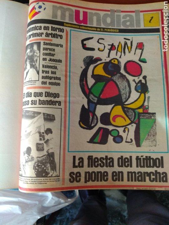 ESPECIAL ( MUY BUSCADO, EL PERIÓDICO, MUNDIAL ESPAÑA 82 ÚNICO PERFECTO ESTADO !) ÚNICO EJEMPLAR. (Coleccionismo Deportivo - Libros de Fútbol)