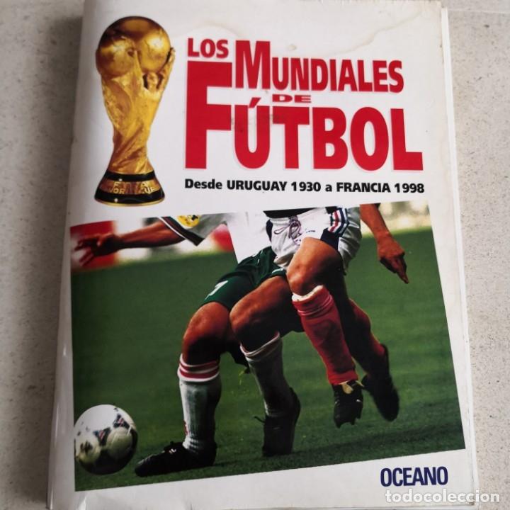 LOS MUNDIALES DE FUTBOL - OCÉNANO (Coleccionismo Deportivo - Libros de Fútbol)