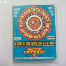 Coleccionismo deportivo: SUPER DINÁMICO HISTORIA FÚTBOL ESPAÑOL TEMPORADA 1974 - 1975 TOMO Nº 4 ESPAÑA, CALENDARIO. Lote 175728269