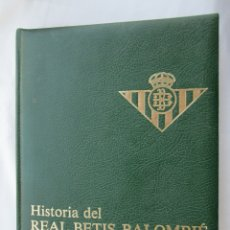 Coleccionismo deportivo: HISTORIA DEL REAL BETIS BALOMPIÉ TOMO 2 DE (1936 A 1970) - BIBL. ED. ANDALUZAS SEVILLA 1982. . Lote 175992817