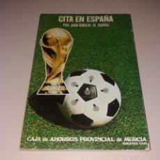 Coleccionismo deportivo: LIBRO. GUÍA MUNDIAL ESPAÑA 1982 82. CITA EN ESPAÑA, JUAN IGNACIO IBARRA. Lote 176033324